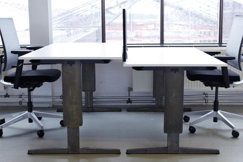 Raw aspa facility slinger verstelbaar bureau slim inrichten